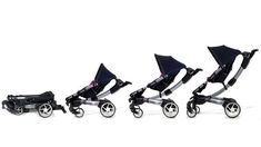 4moms Origami Stroller--the most High-Tech stroller out there...and you can place it in your car without the hassle you usually experience when folding strollers!