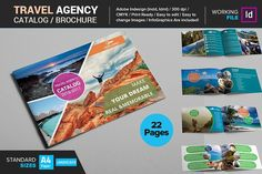 Travel Agency Catalog / Brochure  by Layout Design Ltd on @creativemarket