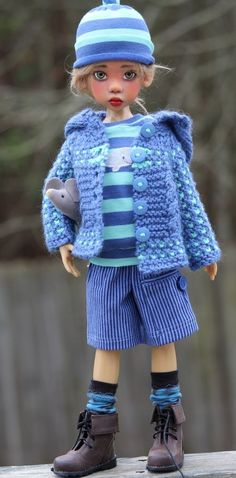 SPRING OUTFIT SET MSD FOR MAURICE 18  KAYE WIGGS DOLLS DOLLSTOWN DT 7 BY BARBARA