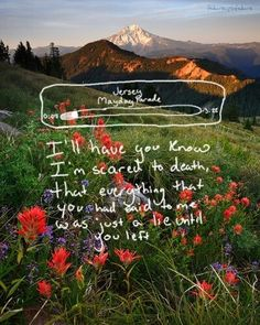 Mayday Parade - Jersey I think these lyric pictures are so cool :o