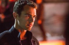 Theo James as Four | Theo James on David Letterman