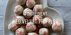 how to make red velvet truffles for valentines day treat recipe