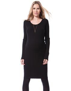 Ultra-Soft Ribbed Knit Maternity Dress $89.00