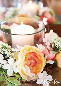 Easy Floral Centerpiece