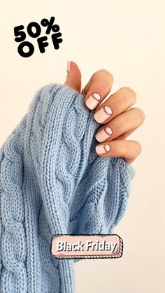 This BLACK FRIDAY get the perfect nail art manicure at home with our easy to apply, vegan, 100% polish nail wraps. 50% off this weekend only. Get yours before they're all gone! Overlay Nails, Cute Nail Art Designs, Modern Nails, Gray Nails, Manicure At Home, Nail Shop, Nail Wraps, Perfect Nails, Simple Nails