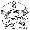 LITTLE CRITTER coloring pages