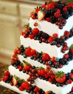 10 Fabulous Wedding Cake Ideas for 2015. #weddings #cakes #2015