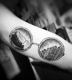 Charlotte Lee | Blackworks | Nature | City | Tattoo