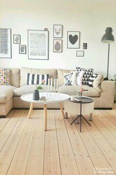 Wunderbar Charmant Pinterest Elegant Taupe Sofa, Golden Yellow Pillow, Light Walls,  Black Accents Furchtbar Bilder Nordisch Wohnen Wohnzimmer Ideen Uberlegen  ...