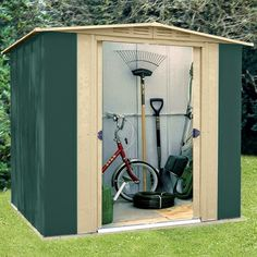 Home Genies- Home and Garden products: Metal Garden Sheds