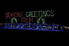 Season's Greetings. Here is the Ultimate List of things to do in Las Vegas this Holiday Season!
