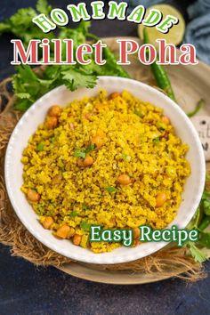 Indian Food Recipes, Asian Recipes, Ethnic Recipes, Poha Recipe, Evening Snacks, Middle Eastern Recipes, American Food, Okra, Chutney