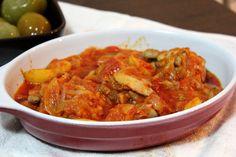 Reteta culinara Tocanita de ceapa cu pui din categoria Pui. Cum sa faci Tocanita de ceapa cu pui