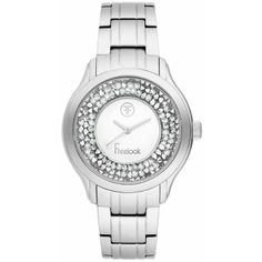 Ceasuri Dama :: CEAS FREELOOK F.1.1014.03 - Freelook Watches Rolex Watches, Bracelet Watch, Swarovski, Bracelets, Silver, Accessories, Crystal, Bracelet, Arm Bracelets