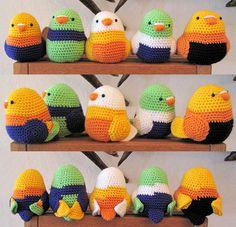 amigurimi birds | Flickr - Photo Sharing!