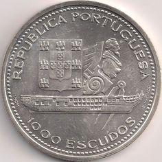 Wertseite: Münze-Europa-Südeuropa-Portugal-Escudo-1000.00-1996-Fernando II