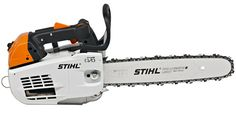 MS 201 T The purpose-built Top-Handle Chain saw for commercial tree surgery and arboricultural applications. Powerful new model with reduced emissions, superior fuel economy and enhanced safety features.