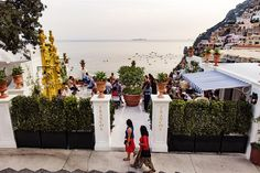 Franco's Bar | Positano  Just 30 metres further up Via Cristoforo Colombo from Le Sirenuse, Franco's Bar is open daily from 6pm until midnight, weather permitting, from April through to October.