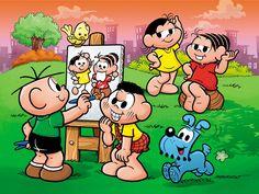 Turma da Monica! My favorite comic book growing up in Brazil!