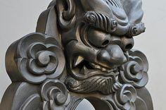 Onigawara, Oni gargoyles used for protecting homes to chase away evil spirits.