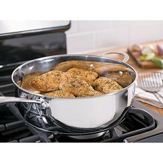 Sandra by Sandra Lee 6qt Stainless Steel Ultimate Cooker w/ Glass Lid $11.97 @ Kmart - Hot Deals