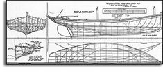 Kingston Lobster boat:    plan by Howard Chapelle