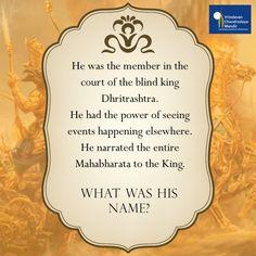 What was his name? a) Sanjay b) Vikarna c) Parikshit d) Uttara