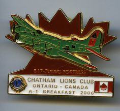 Lions Club - Chatham, Ontario - 2006 - B-17 - Flying Fortress