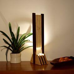 lampe bois design haut de gamme: SUMACA par woodlampdesign sur Etsy