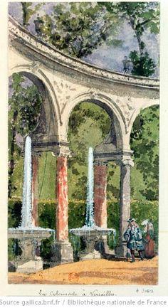 La Colonnade à Versailles.