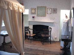 Jane Austen's House: Jane's bedroom