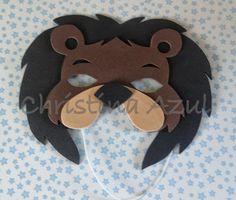 Christina Azul: Máscaras de bichos em EVA