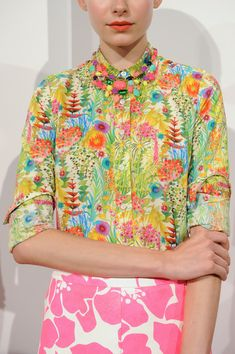It's baack!  Welcome, 70's, you were so missed!  J.Crew Spring 2013 - Details