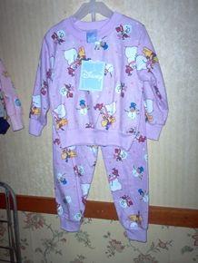 c7ac07dce88c Pajamas disney winnie the pooh flannel sz3 lavender