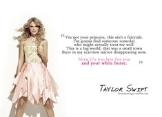 Taylor Swift, White Horse