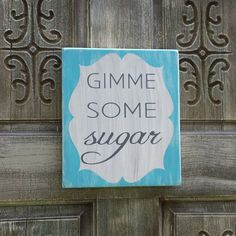 Southern Sign  Sugar by SouthernbyChoice on Etsy