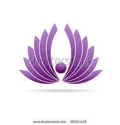 Lotus Lily Plant Graphic