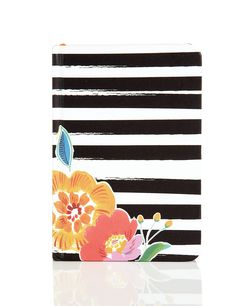 Small Striped Floral Rio Notebook
