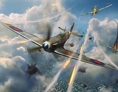 """Check out new work on my @Behance portfolio: """"Air battle"""" http://be.net/gallery/53871331/Air-battle"""