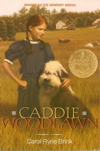 Caddie Woodlawn - free resources.  Printable paper dolls, vocabulary words, unit study