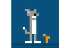 8ビットでリデザインしたネコキャラクター | Fashionsnap.com | Fashionsnap.com