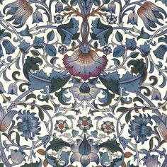 56 Best Ideas For Vintage Wallpaper Flowers William Morris William Morris Wallpaper, William Morris Art, Morris Wallpapers, Blue Wallpapers, Wallpaper Nature Flowers, William Morris Patterns, Motifs Textiles, Art Chinois, Stoff Design