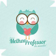 Caixa de Bombom Dia dos Professores Melhor Professor Coruja