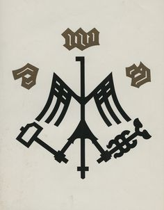 German metal goods factory logo.
