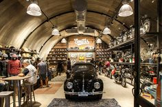 Country Shop, Batcave, Garage Ideas, Barbershop, Will Smith, Great Places, Warehouse, Places To Visit, House Ideas
