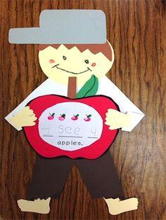 Preschool Apple Theme, Apple Activities, Preschool Literacy, Kindergarten Writing, Kindergarten Activities, Writing Activities, Preschool Activities, Kindergarten Classroom, Kindergarten Apples