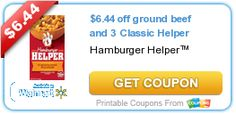 Double Deal: Hamburger Helper Rebate + Coupon = $12.88 in Free Hamburger http://shoppingkim.com/double-deal-hamburger-helper-rebate-coupon-12-88-in-free-hamburger/