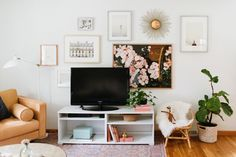 TV wall styling