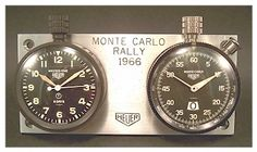 Monte Carlo Rally, Austin Healey Sprite, Fiat 600, Pocket Watches, Rally Car, Tag Heuer, Vintage Watches, Vintage Ads, Cool Watches