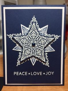 Triple Star by hquinzelle - Cards and Paper Crafts at Splitcoaststampers